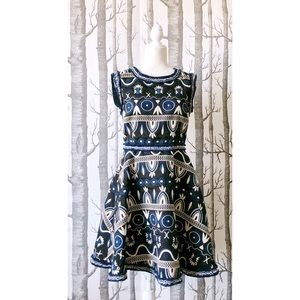 //BOUTIQUE// Tapestry A-Line Dress